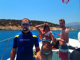tauchen vom boot