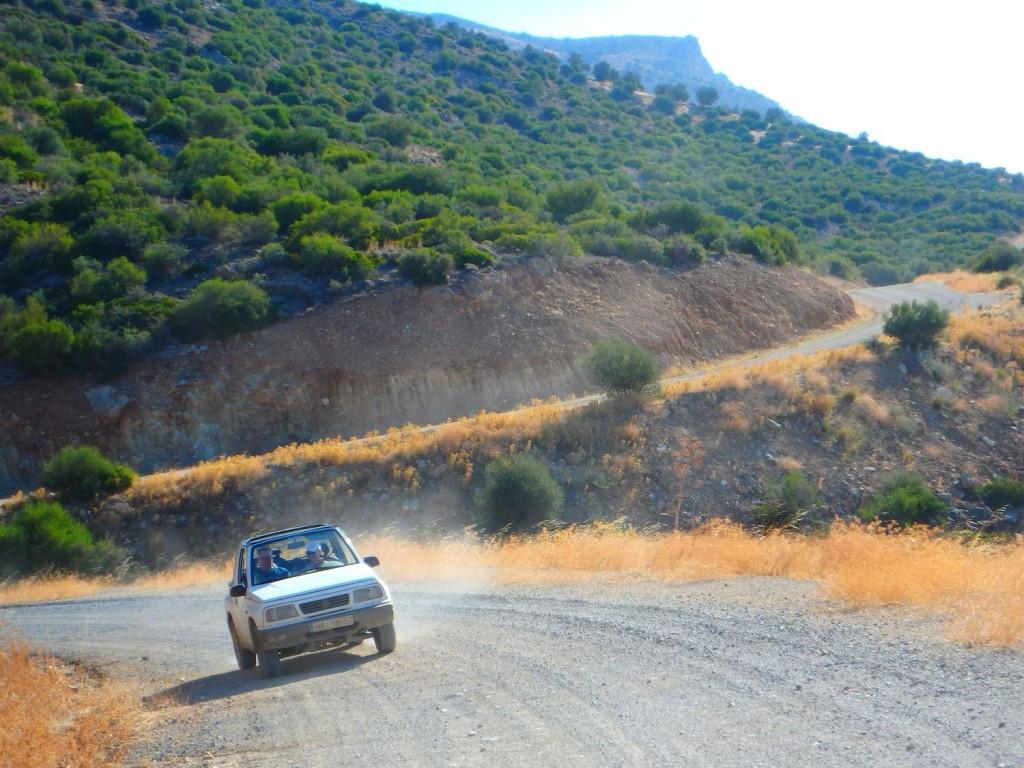 Jeepsafari auf Kreta in der Nebensaison